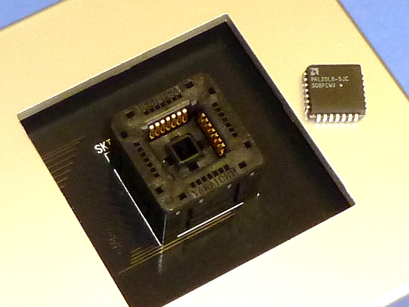 PLCC programmer socket adapter