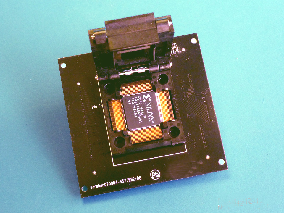 CX3026 112-pin TQFP programmer socket adapter